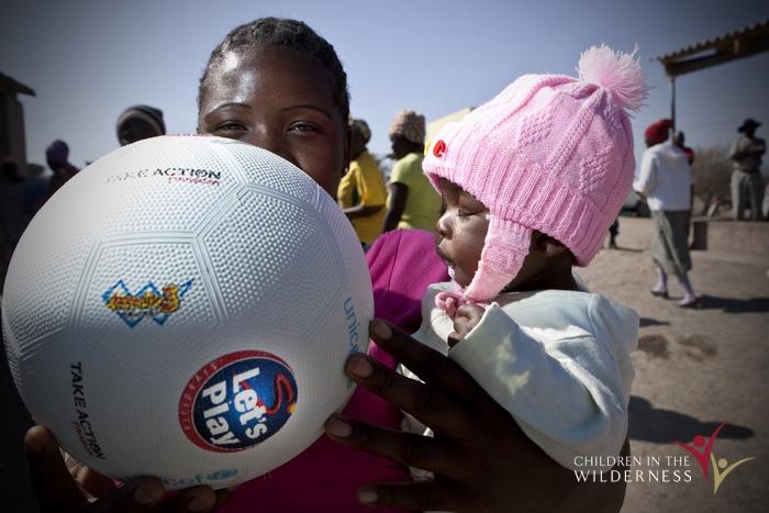 Kids & soccer balls - a match made in heaven!