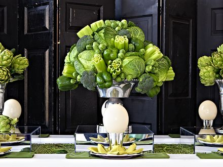Floral Design with creative liberties taken.  Flowers or vegies....it's all beautiful!