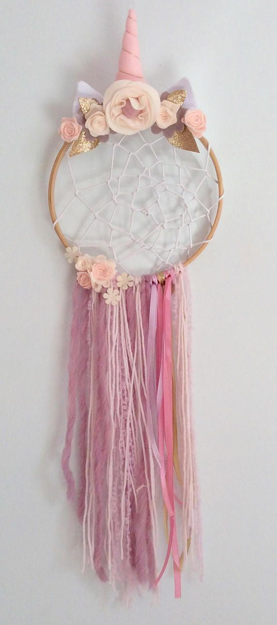 Unicorn Dreamcatcher- Boho Dream Catcher Party - Unicorn Dream ... 451d4502907