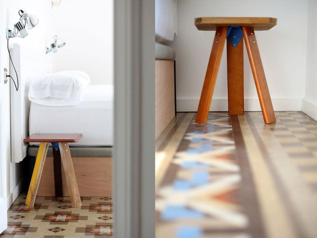 Upcycled stools by designer Curro Claret and Arrels Fundació for yök Casa + Cultura : TreeHugger