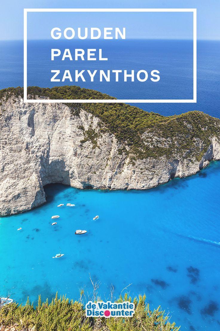 Het Griekse eiland Zakynthos is de gouden parel van de Ionische Zee.