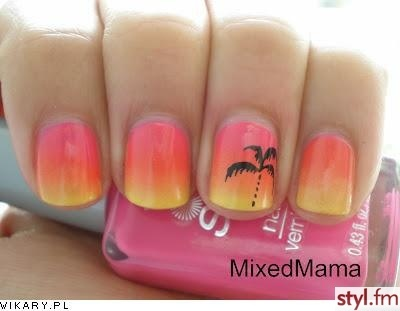 Island girl nails:-)Toes Nails Palms Trees, Girls Nails, Holiday Nails, Sunsets Nails, Palms Trees Nails, Summer Nails, Beach Nails, Beach Toes Nails, Nails Art Palms Trees