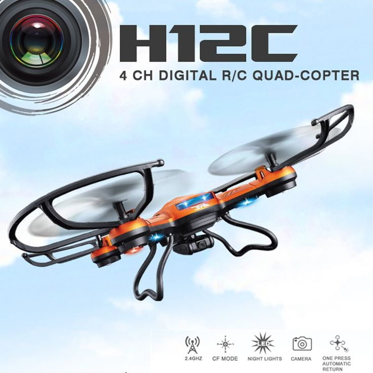 Rc Drones With Camera Hd Jjrc H12c Rc Quadcopters With Camera Flying Camera Helicopters Remote Control Dron Professional Drones #Affiliate