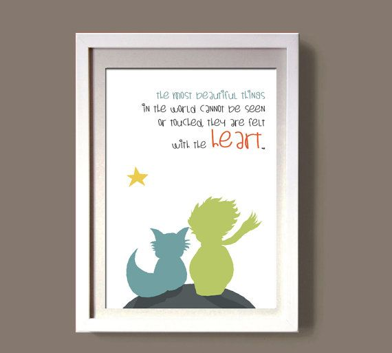 The Little Prince-LE PETIT PRINCE  art print wall art by COLOR4FUN