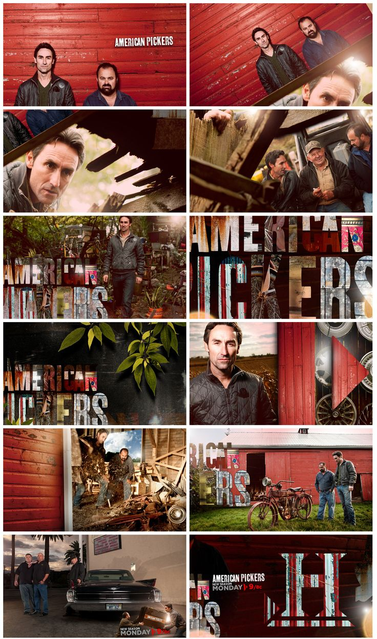 1000 Images About American Pickers On History On Pinterest American