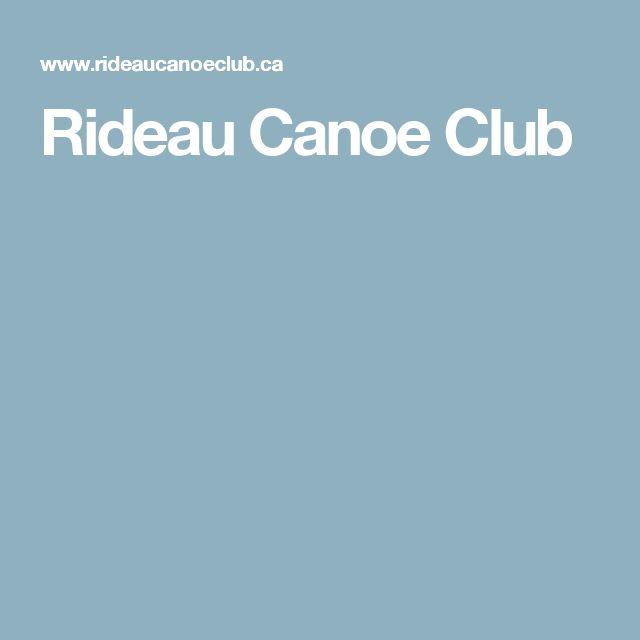 Rideau Canoe Club