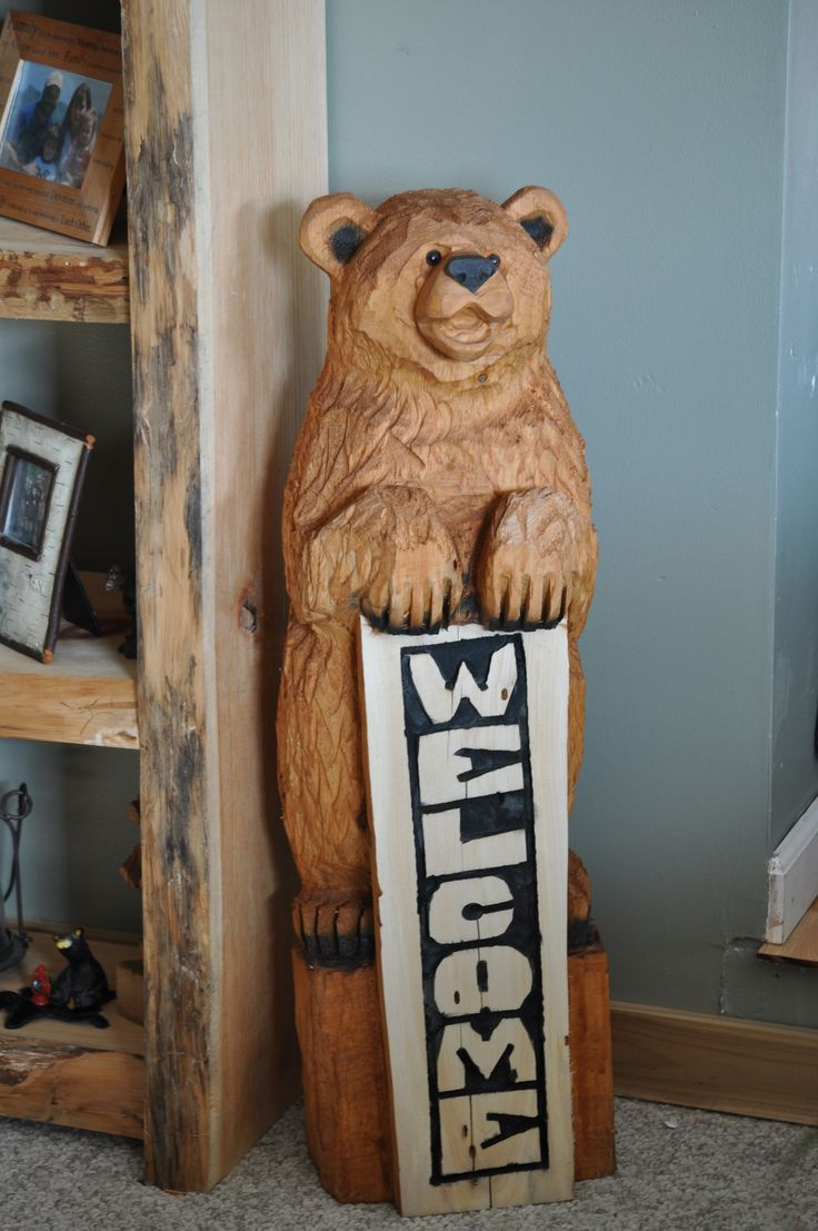 Best chainsaw carvings images on pinterest tree