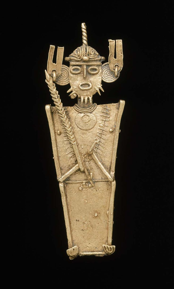 Male effigy cache figure Muisca A.D. 1100–1550 Place of Origin: Departments of Cundinamarca & Boyacá, Colombia | Museum of Fine Arts, Boston