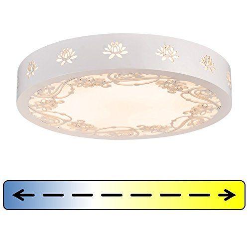 LED Deckenleuchte Deckenlampe Rund Mit Fernbedienung Flur