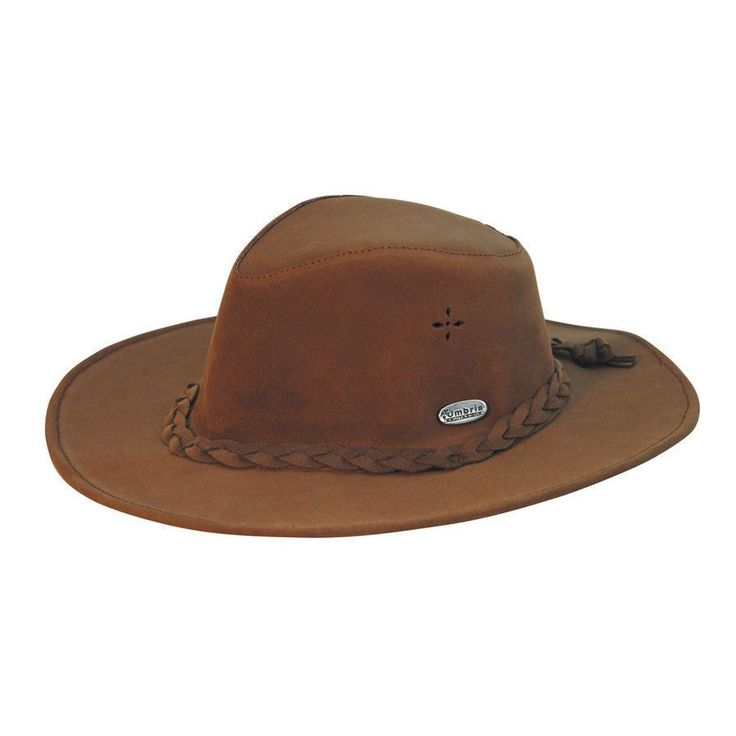 Cappello Umbria Equitazione western in cuoio
