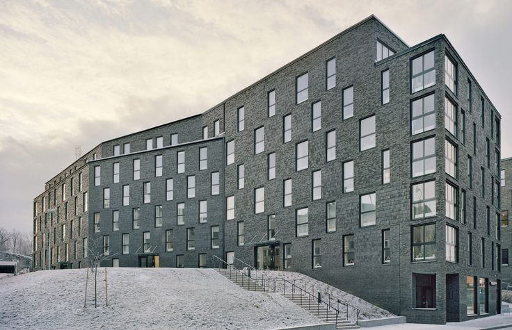 Kjellander + Sjöberg Architects - Annedal Terraces - View from Annedalsvägen