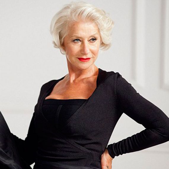 Dame Helen Mirren debuts a new do - hair styling products - Woman And Home