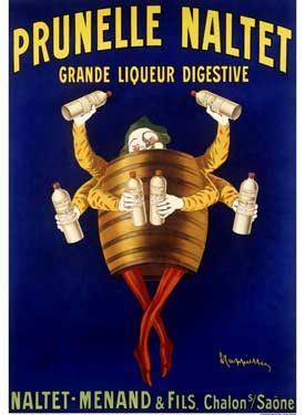 Prunelle Naltet Ad by Leonetto Cappiello Fine Art Print