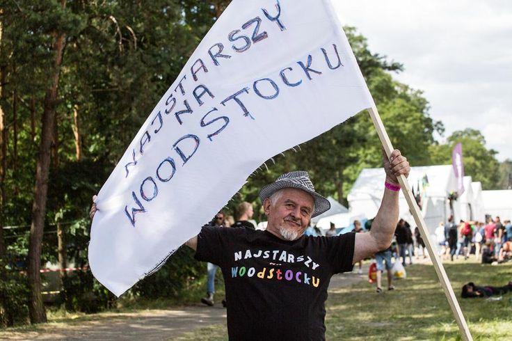Czy to najstarszy człowiek na Woodstocku?