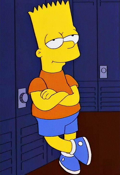 Bart Simpson. See more The #Simpsons pics at www.freecomputerdesktopwallpaper.com/simpsons.shtml