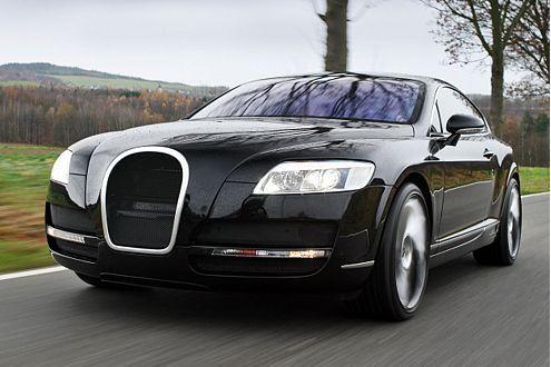 The Bugatti remixed Bentley