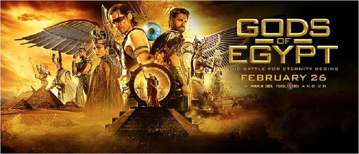 Esra Nazenin Özdemir: Ön Gösterimlerim || Mısır Tanrıları (Gods of Egypt) || Yorum