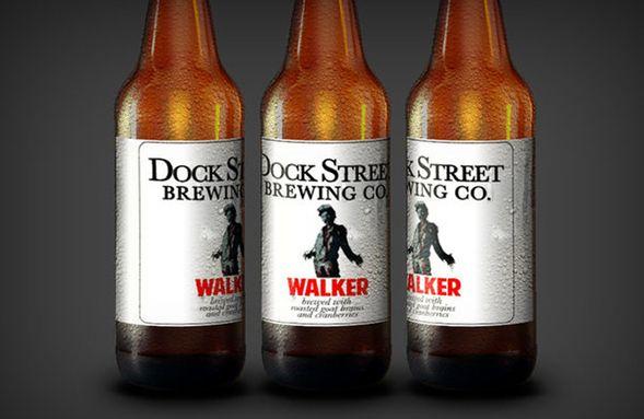 'The Walking Dead' Beer  http://alcoholisfun.blogspot.com/2014/03/piwo-walking-dead.html