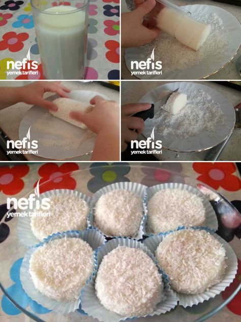 #Bardak Tatlısı ( Muhallebisi )#food#sweet#custard#coconut