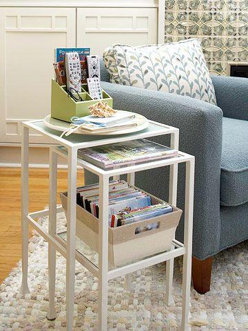 Nesting Table Storage