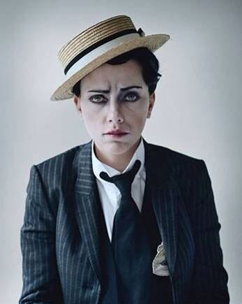Drag kings are mostly female performance artists who dress in masculine drag and personify male gender stereotypes as part of an individual or group routine. They may be heterosexual, lesbian, bisexual, transgender, genderqueer, or otherwise part of the LGBT community. #Vitalgbtqexpo2017 #lifestylelondon #lgbtqhowwelivenow