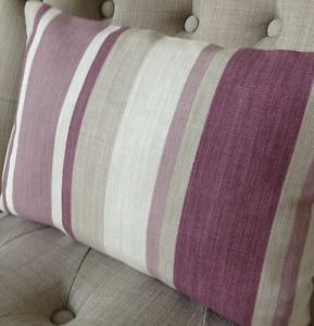 12x16-cushion-cover-in-Laura-Ashley-Awning-stripe-grape-purple-Austen
