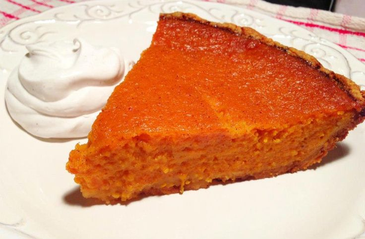 Paleo Sweet Potato Pie #PaleoCupboard
