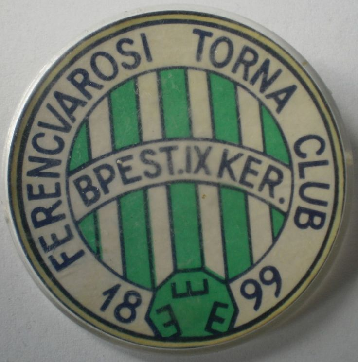 Hungarian Football Budapest Ferencvarosi Torna Club Ferecvaros Fradi Pin Badge