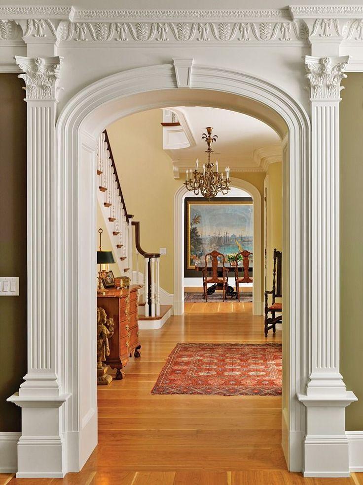 была арки порталы над лестницей картинки распространяется твердое