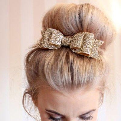 Le chignon XXL - Pinterest: 10 idées de coiffures simples pour les fêtes