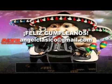 Cumpleaños feliz, ratones al piano cantan cumpleaños feliz, canción, singing happy birthday , happy - YouTube