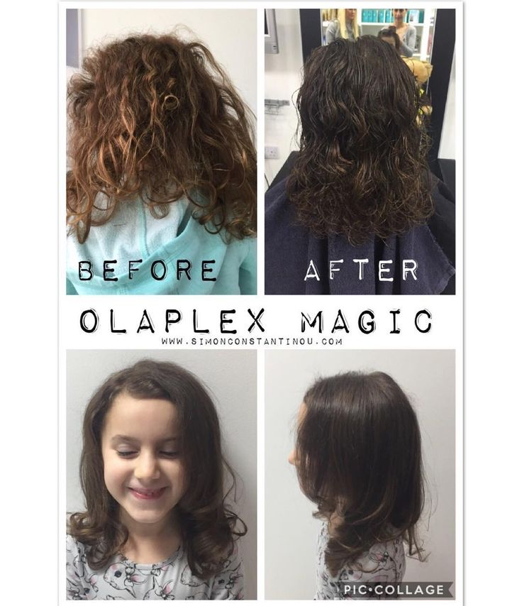 Here's a bit of OLAPLEX magic!  Used here to strengthen and encourage growth this little lady's hair feels silky smooth and after a blowdry by Laura she felt very pampered!  Proud to be an OLAPLEX salon call 02920461191 to book or enquire. O.Constantinou & Sons. 99 Crwys Rd Cardiff. CF24 4NF #simonconstantinou #hairsaloncardiff #kidscuts #childrenshairdressercardiff #olaplex @olaplexuk @olaplex Olaplex UK