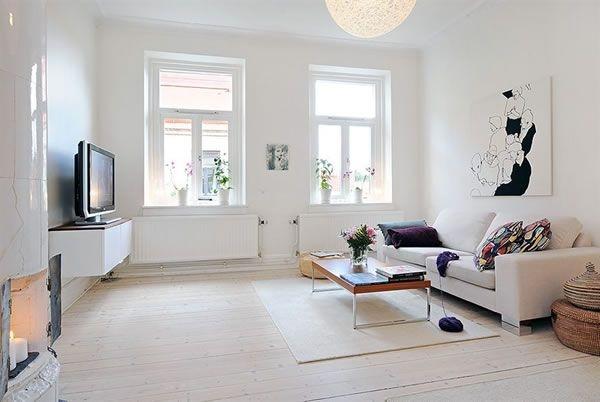 Small #Minimalist #Apartment in Gotheborg, #Sweden