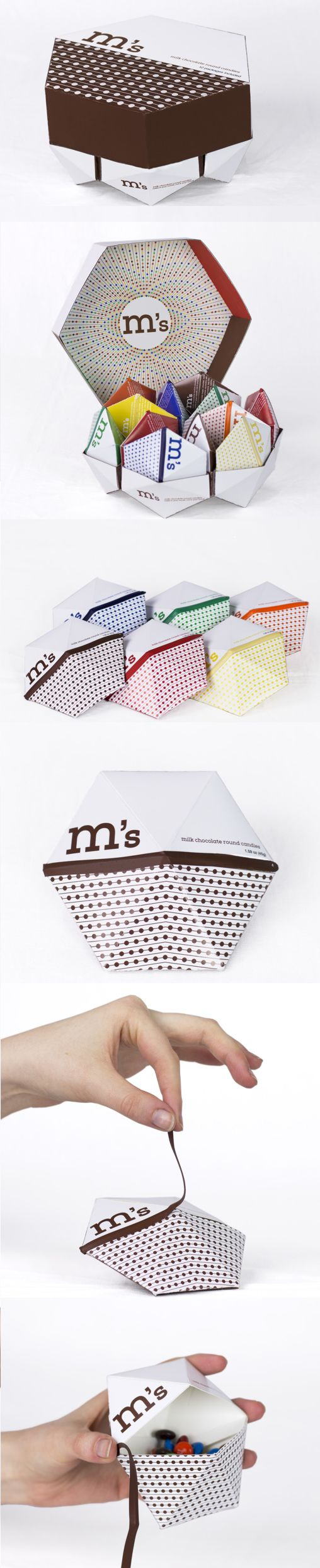 M&M's packaging gets a concept redesign
