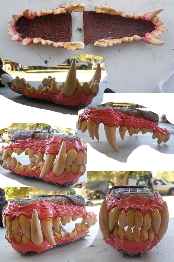 Some photos of the custom jawsets I do. This was for a werewolf commission I'm currently working on. Jawsets like this run around $60, since werewolf teeth are very detailed. You can request differ...