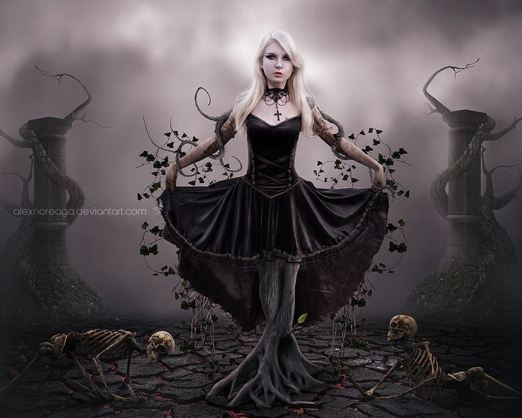 17 best A Bizarre Bazaar images on Pinterest | Digital art ... Modern Gothic Paintings