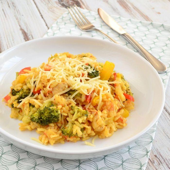 Ook zo dol op de Italiaanse keuken? Probeer deze risotto met broccoli en kip dan eens. Het is een eenvoudig recept met een ontzettend lekker resultaat!