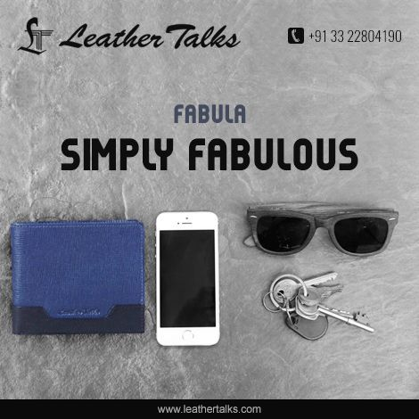 This FABULA wallet comes with compact compartments allowing you to organize all your essentials in order of priority. Also provided with an inner small flap closure to keep all your coins safe. Extremely light weighted and portable while using.   #blueleatherwallet #giftyourman   Hurry up and visit http://leathertalks.com/product/fabula_2/
