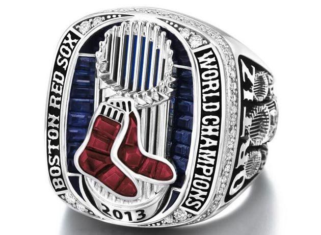 2013 World Series Ring...... I have a replica, of course......