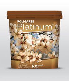 Platinum egyrétegű beltéri falfesték - Polifarbe
