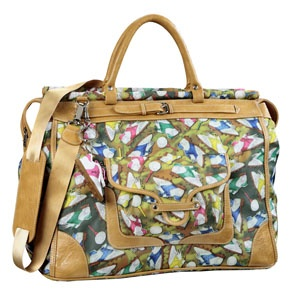 Brand: Sydney Love USA  R.R.P.(incl GST): $137.37  W  SKU: SLSG82701  Available for sale  Barcode: 685413827019  Qty:  Restore Previous Cart    Generous Sized weekender or Travel Bag.  Exclusive Golf design fabric with Metal Golf Ball Zip Pulls.  Extremely Lightweight but sturdy & durable in Ripstop nylon with Leather Look trim. Comes With optional Shoulder strap & Bonus Golf Shoe Key Ring.   50 x 30 x 24cm