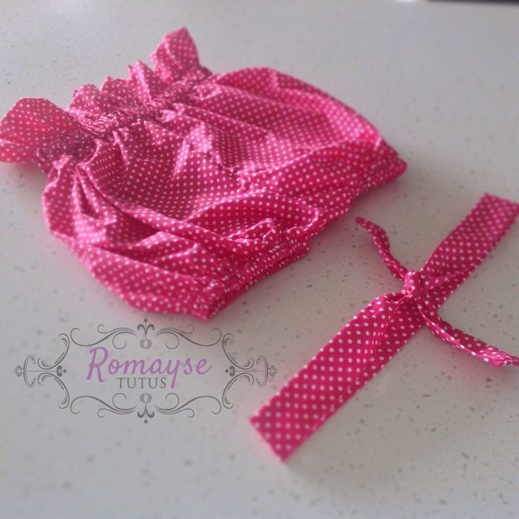 New collection high waisted bloomers and head wrap set