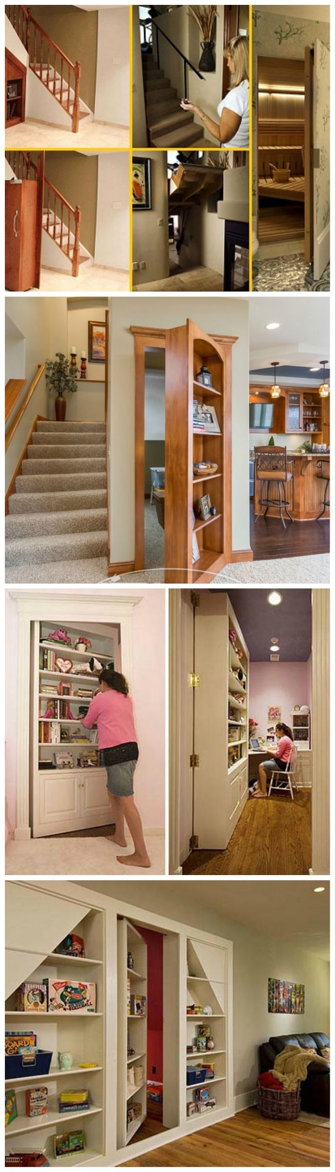 25 best ideas about hidden safe on pinterest safe for Panic room plans