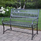 Found it at Wayfair - Noble Iron Garden Bench