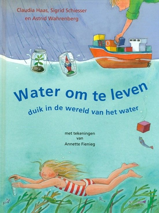 Water om te leven    Neem een duik in de wereld van het water en kom alles te weten over ons kostbare water. Waar komt het vandaan? Hoe wordt het schoongemaakt? Wat zit er allemaal sloot-water?     Met veel leuke proefjes! Kortom: een onmisbaar boek voor kinderen die meer over water willen weten.    Leeftijd: 7+ Te verkrijgen bij Buitenkinderen.nl!