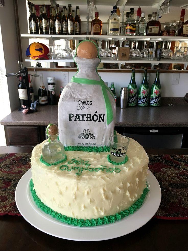 Tequila el Patrón Cake
