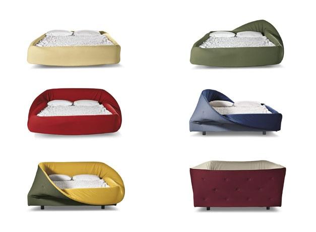 Colletto, Design LAGO Comodo e accogliente come un nido. Un letto che avvolge come un dolcevita, grazie ad un soffice anello in soft foam da plasmare con forme nuove. http://www.baronearredamenti.it/notte/