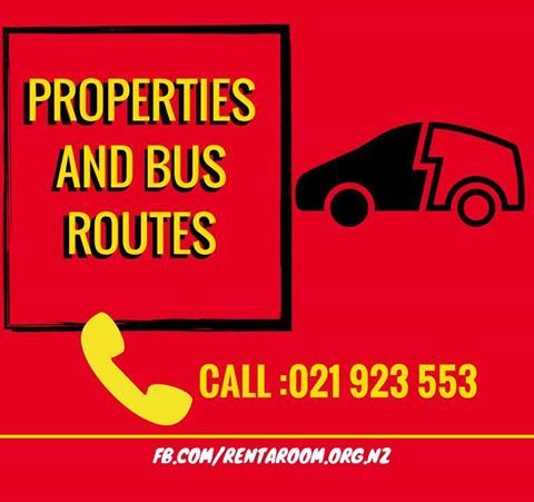 #Transport Info : Check Out Here : http://www.rentaroom.org.nz/bus-routes Map showing the location of all of the properties managed by #Rent-A-#Room.