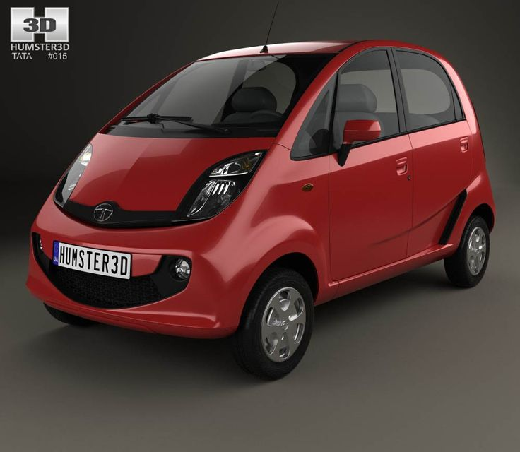 Tata Nano GenX 2015 3d model from Humster3D.com.