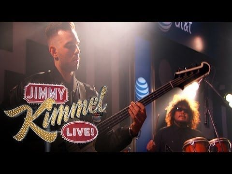 Happy to put a visual on the initially enigmatic Jungle. Here are Busy Earnin' and Time performed live on Kimmel, their first appearance on US TV!